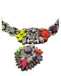 Shourouk | Multicolor Zambia Necklace | Lyst
