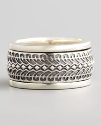 Stephen Webster | Metallic Silver Tire Spinner Ring for Men | Lyst