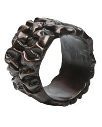 Tamara Akcay | Metallic Bronze Wide Ring for Men | Lyst