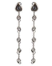 Tamara Comolli - White Paisley Labradorite Drop Earrings - Lyst