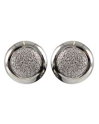 Tamara Comolli | White Sloppy Pavé Diamond Earrings | Lyst