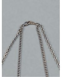 Tobias Wistisen - Metallic Silver Linked Ring Pendant Necklace for Men - Lyst