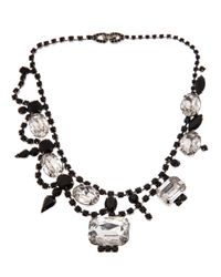 Tom Binns | Black Vintage Bib Necklace | Lyst