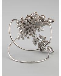Tom Binns - Metallic Secret Garden Cuff - Lyst