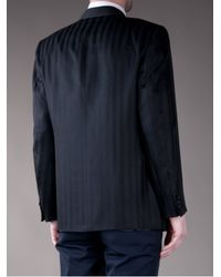 Valentino - Blue Silk Tuxedo Jacket for Men - Lyst