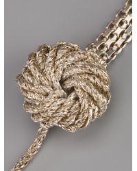 Wouters & Hendrix - Metallic Knot Bracelet - Lyst