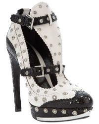 Alexander McQueen | White Stud Shoe | Lyst