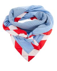 Bernhard Willhelm | Blue Race Scarf | Lyst