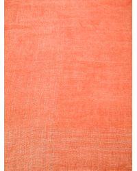 Faliero Sarti - Orange Novita Scarf - Lyst