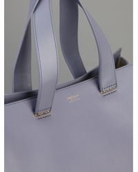 Giorgio Armani - Purple Medium Shopper - Lyst