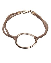 Ileana Makri - Brown Silk Bracelet - Lyst