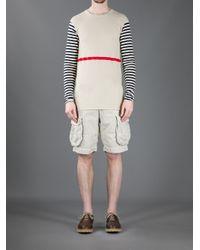 Incotex - Natural Pocket Detailed Bermuda Shorts for Men - Lyst