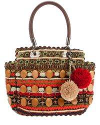 Jamin Puech | Red Woven Tote | Lyst