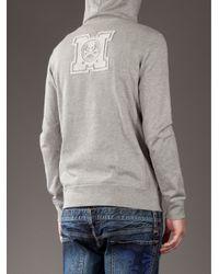 Mastermind Japan - Gray Hooded Jumper for Men - Lyst
