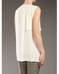 3.1 Phillip Lim | White Layered Silk Top | Lyst