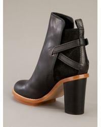 Acne Studios   Black Cypress Boot   Lyst