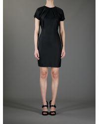 Acne Studios - Black Sweety Fluid Dress - Lyst
