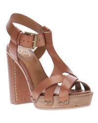 Ash | Brown Quartz Sandal | Lyst