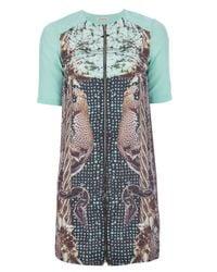 Emma Cook - Green Printed Dress - Lyst