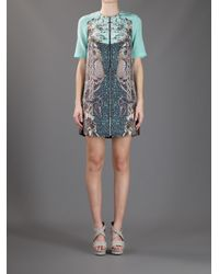 Emma Cook - Green Printed Dress - Lyst
