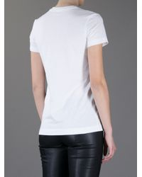 Markus Lupfer - White Angry Spot Face T-Shirt - Lyst