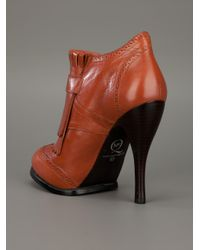 McQ Alexander McQueen | Brown Shoe Boot | Lyst