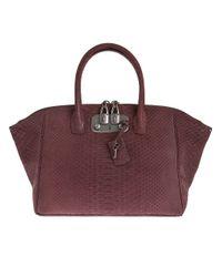 VBH | Purple Python Skin Bag | Lyst