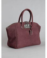 VBH - Purple Python Skin Bag - Lyst