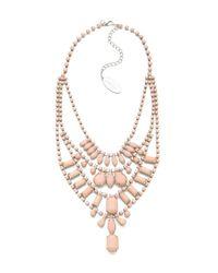 Adia Kibur | Pink Multi Layer Pastel Necklace | Lyst