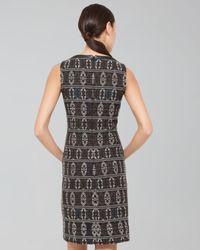 Akris Punto | Black Southwesternprint Shift Dress | Lyst