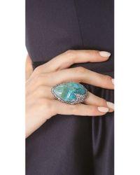 Alexis Bittar - Blue Cordova Chrysocolla Ring - Lyst