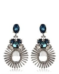 Anton Heunis | Blue Tsarina Collection Earrings | Lyst