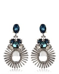 Anton Heunis - Blue Tsarina Collection Earrings - Lyst