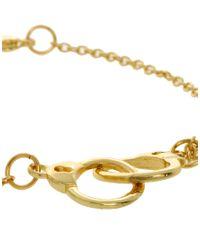 ASOS - Metallic Handcuff Ditsy Bracelet - Lyst