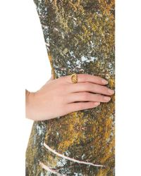 Aurelie Bidermann - Metallic Lasso Ring - Lyst