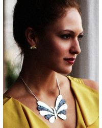 BaubleBar - Yellow Bee Studs - Lyst