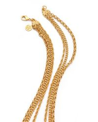 Ben-Amun - Metallic Layered Pendant Necklace - Lyst
