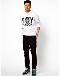 Wesc - White Boy London Logo Eagle Hoodie for Men - Lyst
