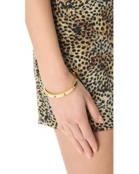 CC SKYE - Metallic Mini Spike Bracelet - Lyst