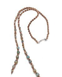 Chan Luu - Blue Beaded Necklace - Lyst