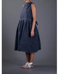Daniela Gregis | Gray Oversize Dress | Lyst