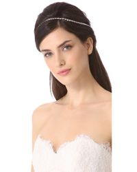 Dauphines of New York - Metallic Once in A Lifetime Headband - Lyst