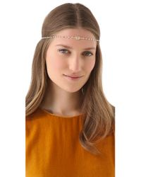 Dauphines of New York - Metallic April Birthday Party Headband - Lyst