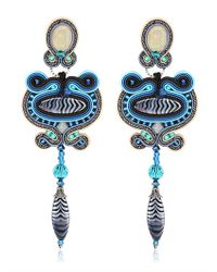 Dori Csengeri | Blue Icarus Earrings | Lyst