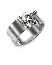 Eddie Borgo   Metallic Hook Latch Cuff Bracelet   Lyst