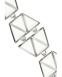 Eddie Borgo | Metallic Agate Dome Bracelet | Lyst