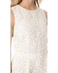 Giambattista Valli - White Embroidered Lace Jumpsuit - Lyst