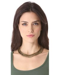 Giles & Brother - Metallic Ceres Choker - Lyst