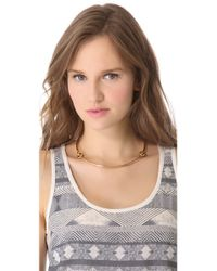 Giles & Brother - Metallic Archer Necklace - Lyst