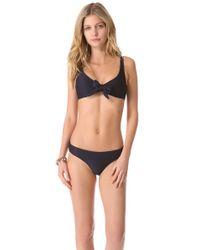 Heidi Klein - Blue Pietra Santa Bow Bikini Top - Lyst